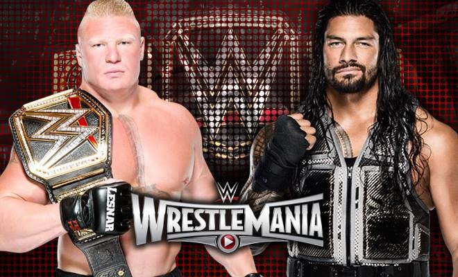 2015 WrestleMania 31 Odds and Predictions - Lesnar vs Reigns and Sting vs Triple H Expert Picks